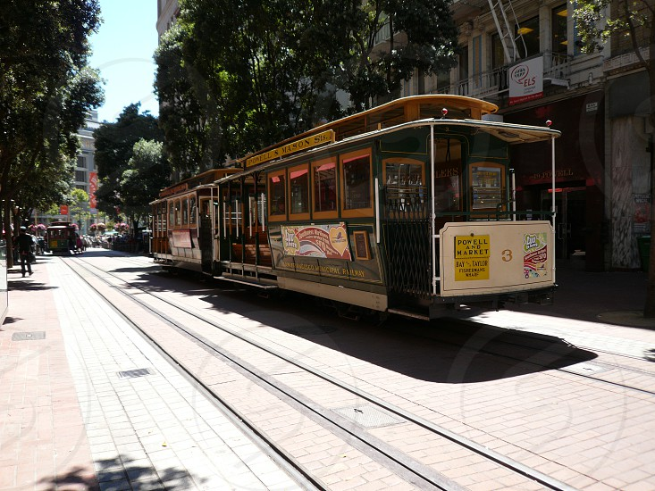 San Francisco Cable Car at Stockton St photo