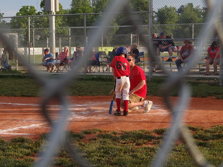 kid at bat coaching in the moment little league photo