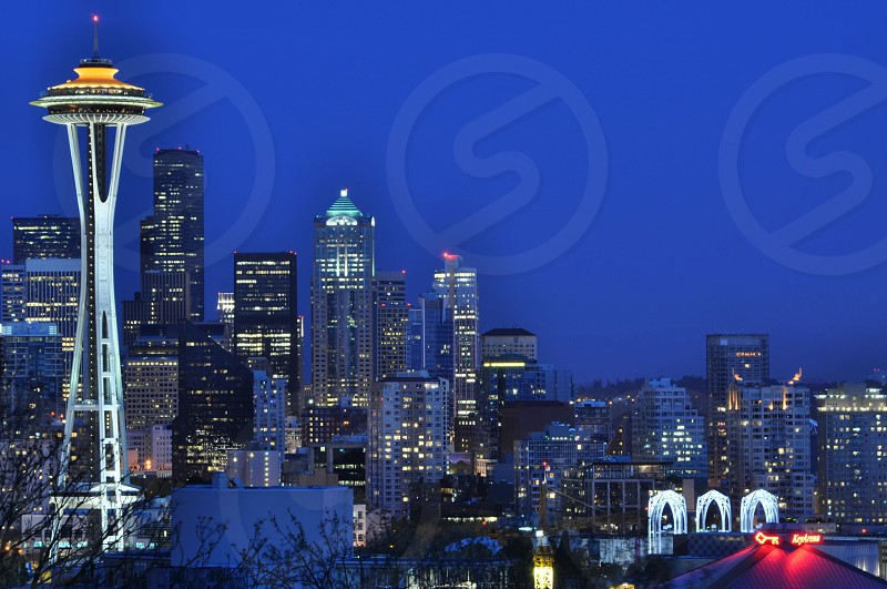 Seattle skyline from Kerry Park photo