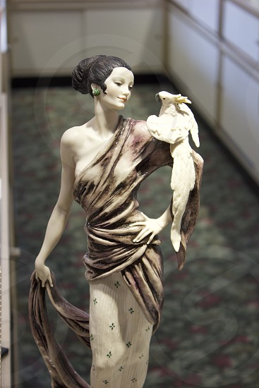 Statue Summer Memories In Natural Light Let's Get Lost Suit and Tie Elegant/Classy Older People Bird photo