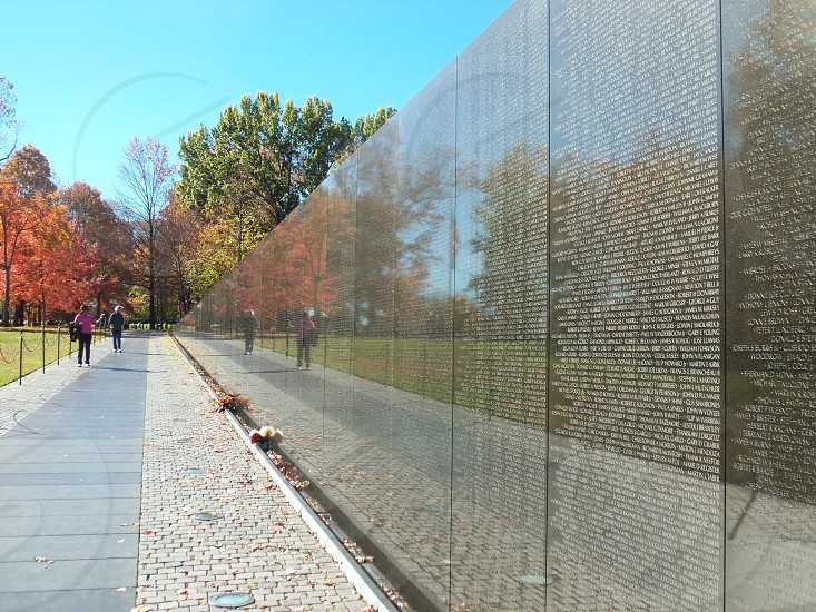 Vietnam Veteran Wall photo