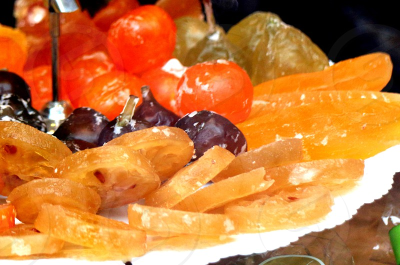 Preserved Fruits Dried Sweet  photo
