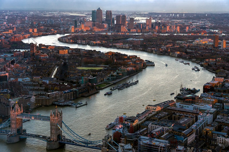 View from the Shard photo