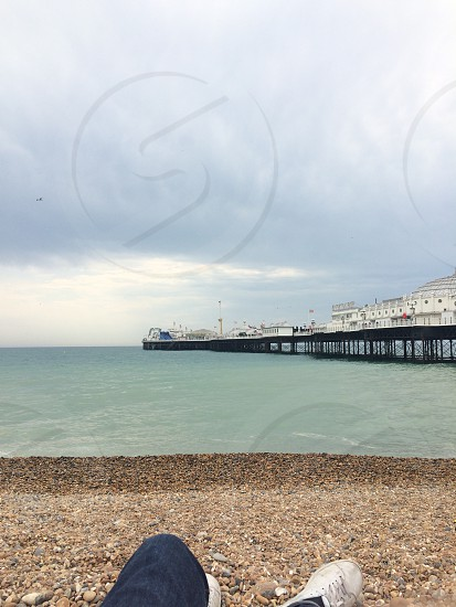 Brighton pier England  photo