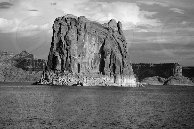 Beautiful Lake Powell Landscape - Arizona photo