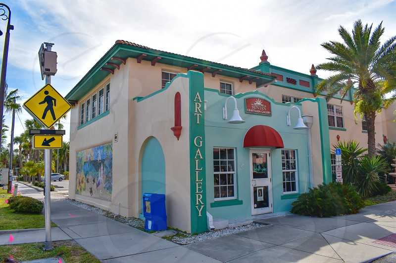 St. Pete Beach Florida. January 25 2019.  Art gallery close to The Don Cesar Hotel in St. Pete Beach. photo