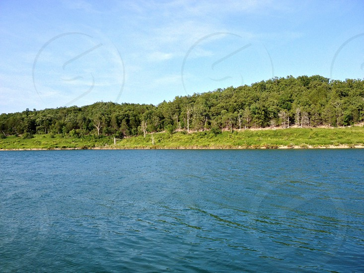 GREEN Bull Shoals Lake incredibly beautiful! photo