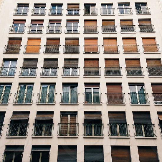 Parisian building. photo