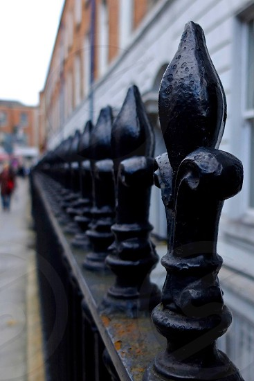 Dublin gate wrought iron photo