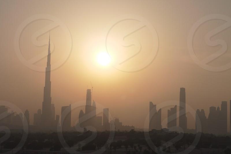 Burj khalifa dubai vae emirates building photo