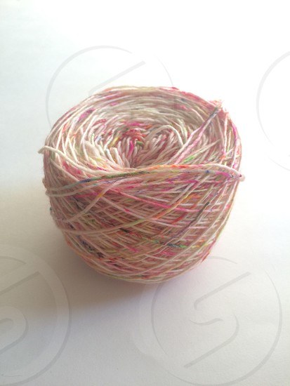 Confetti yarn photo