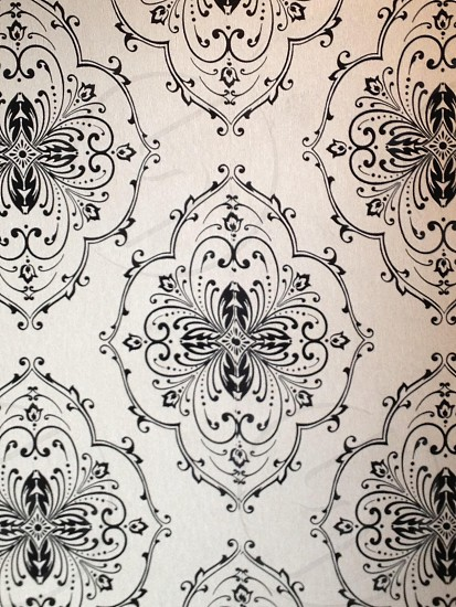 Vintage repeating pattern.  photo