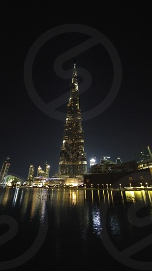 burjkhalifa tallest building sky is not the limit photo