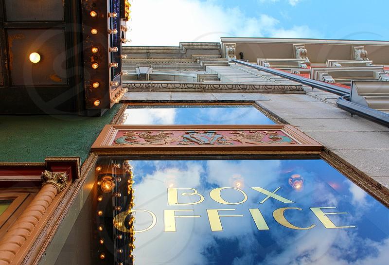 Box office reflection photo