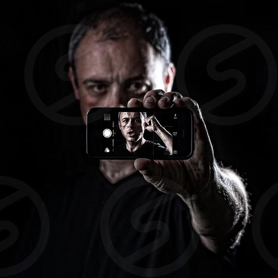 Trapped inside Technology! iphone lighting prison modern tech photo