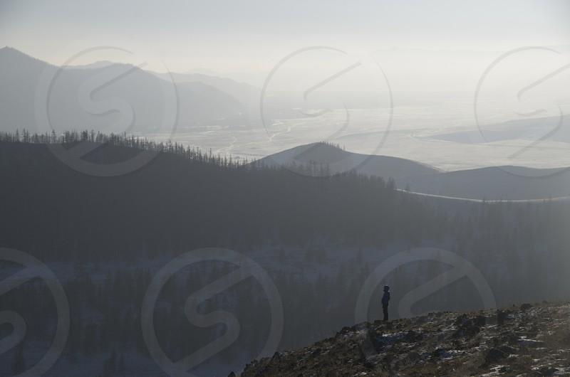 Winter of Mongolia photo