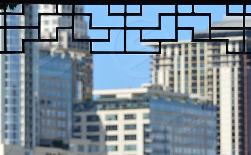 Shapes Lines Geometric Geometry Buildings  photo