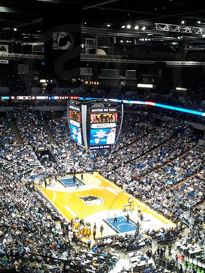 Minnesota timberwolves game at target center in minneapolismn photo