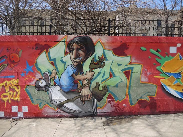 wall graffiti photo