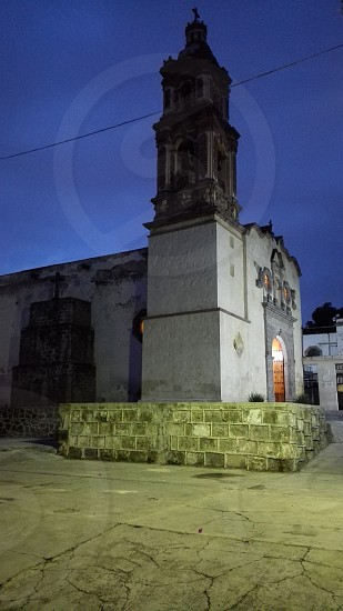 typical church of the Mexican people photo