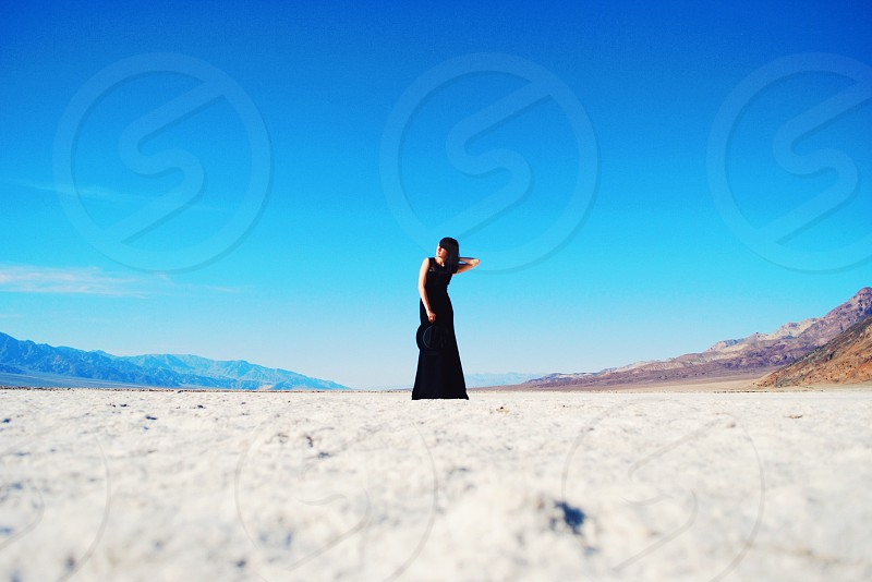 I used C2 on this shot. Taken on the floor of Bad Water Basin in Death Valley National Park. photo