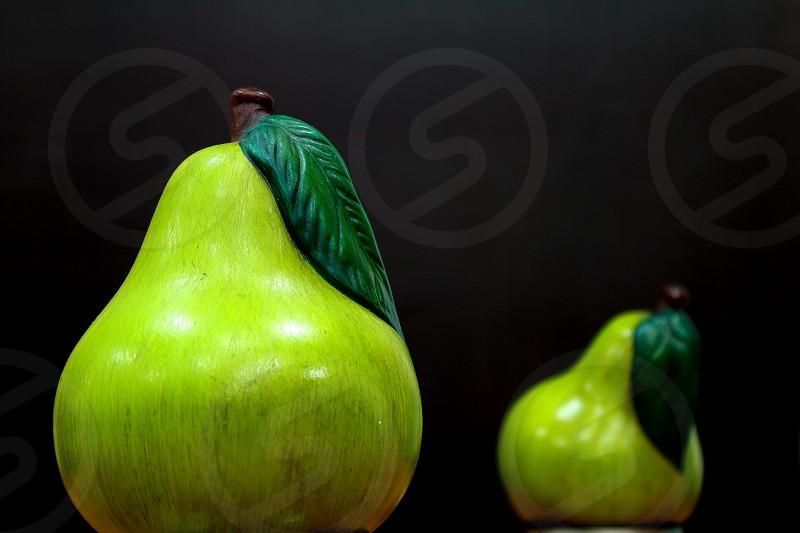 Green fruit pear photo