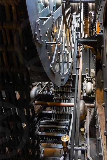 BRISTOL UK - MAY 14 : View of the engine on the SS Great Britain in dry dock in Bristol on May 14 2019 photo