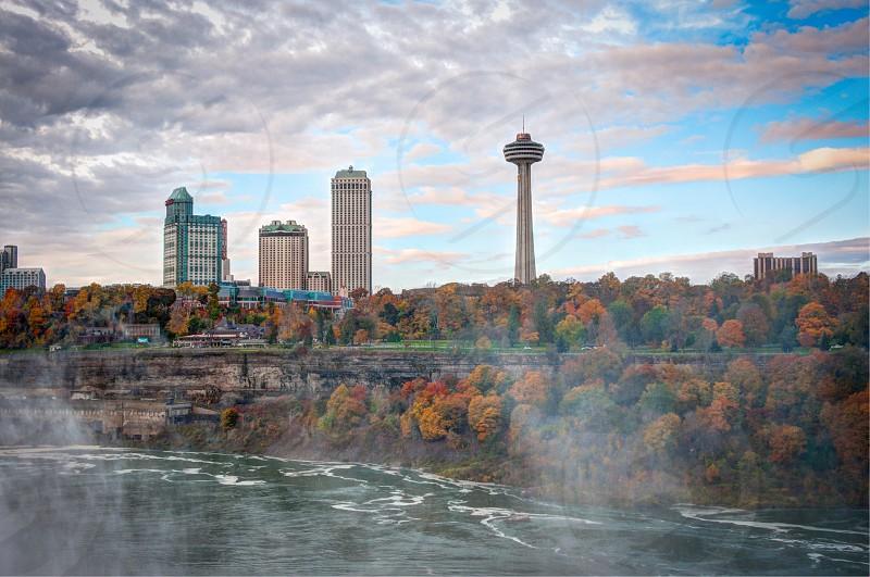 City scape Niagara Falls photo