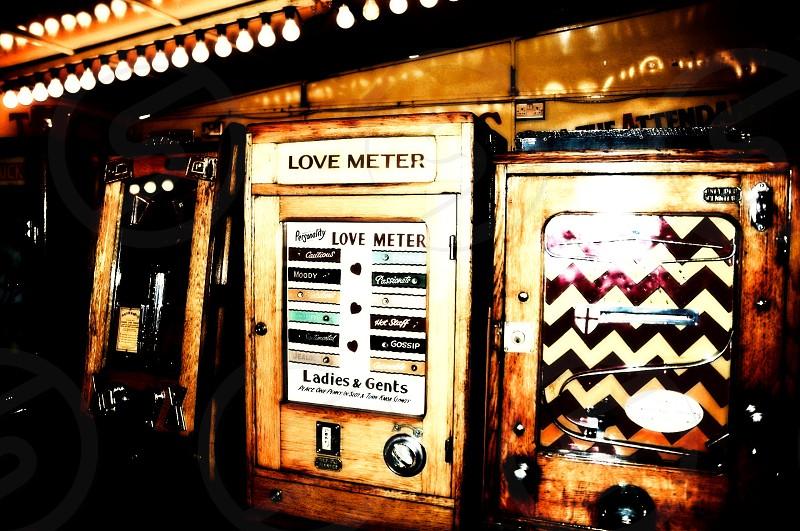 arcade games retro vintage circus fair photo