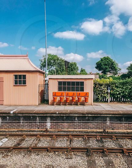 beige train station during daytime photo
