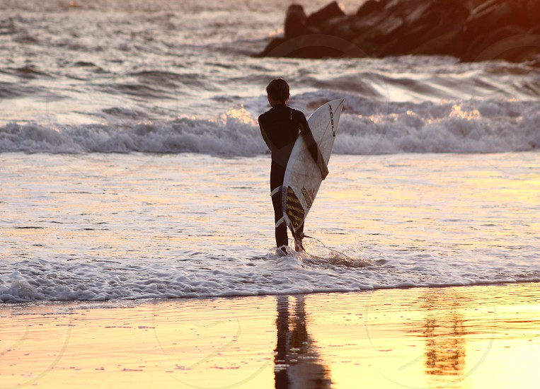 Virginia Beach surfer boy. photo