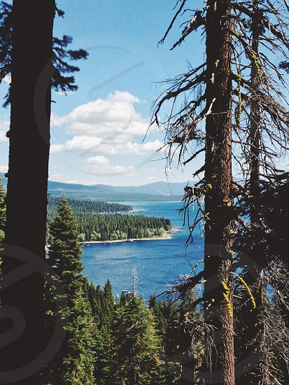 Lake Tahoe summer hiking photo
