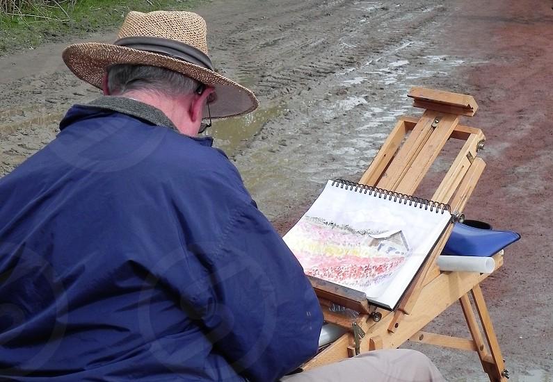 Creating His Masterpiece photo