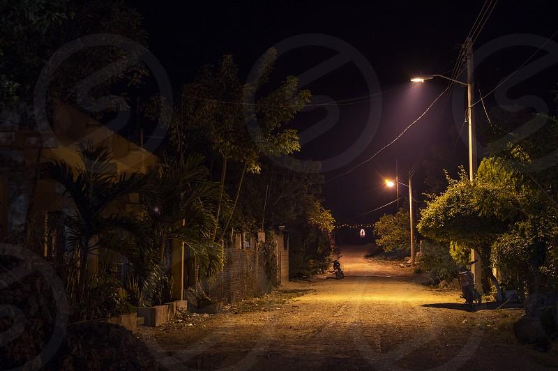 Un pueblo del valle de Edzna Campeche México. photo