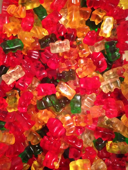 Gummy bears candy colorful photo