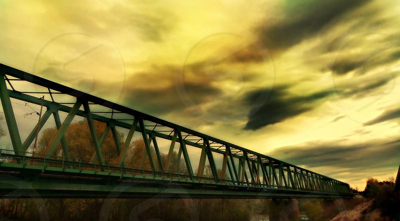 Bridge to open wide photo