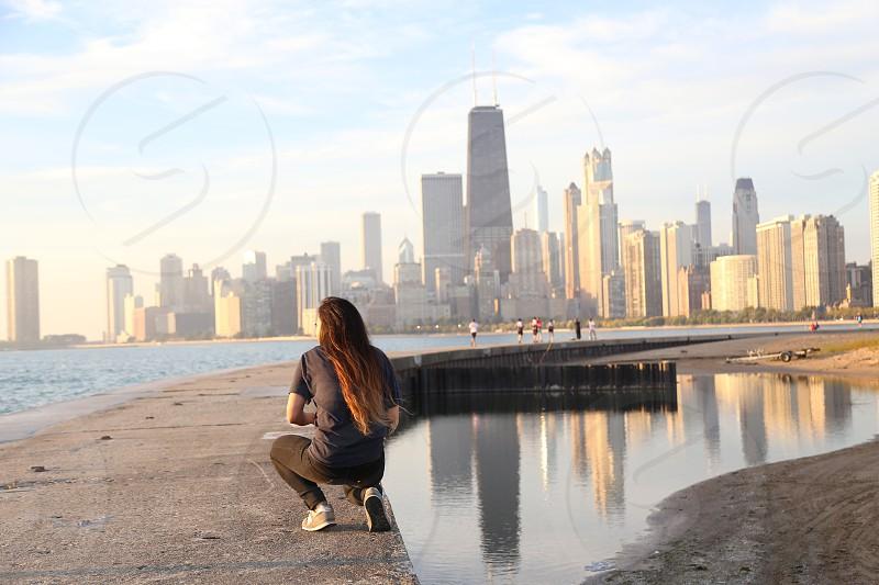 City girl. photo