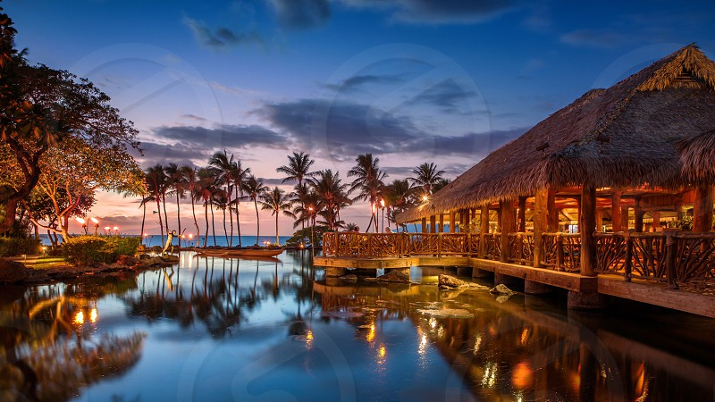 Grand Wailea restaurant in Maui Hawaii photo