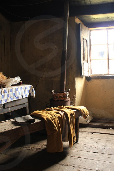 Lazy afternoon in Portugese farmhouse photo
