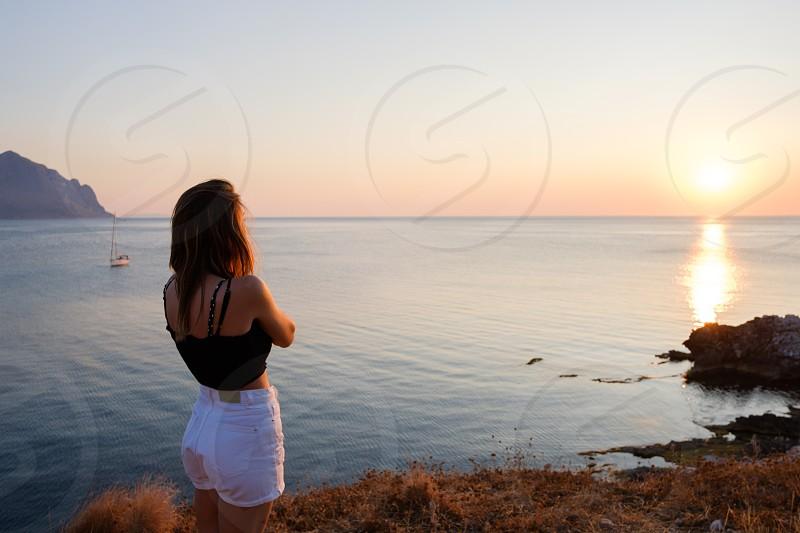 Viggiare e visitare i luoghi di mare. photo