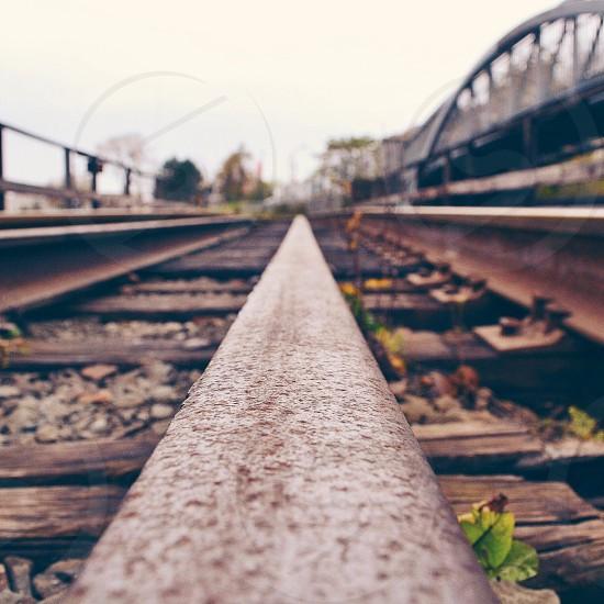 Leading Lines ~ Urban Rails photo
