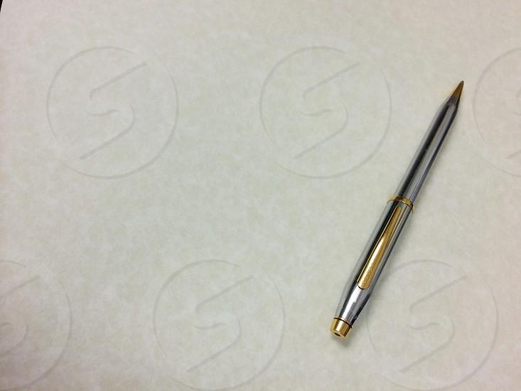 Pen paper snail mail letter photo