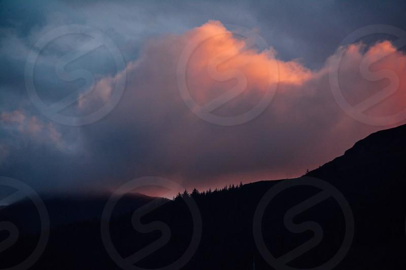 Sky abendrot photo