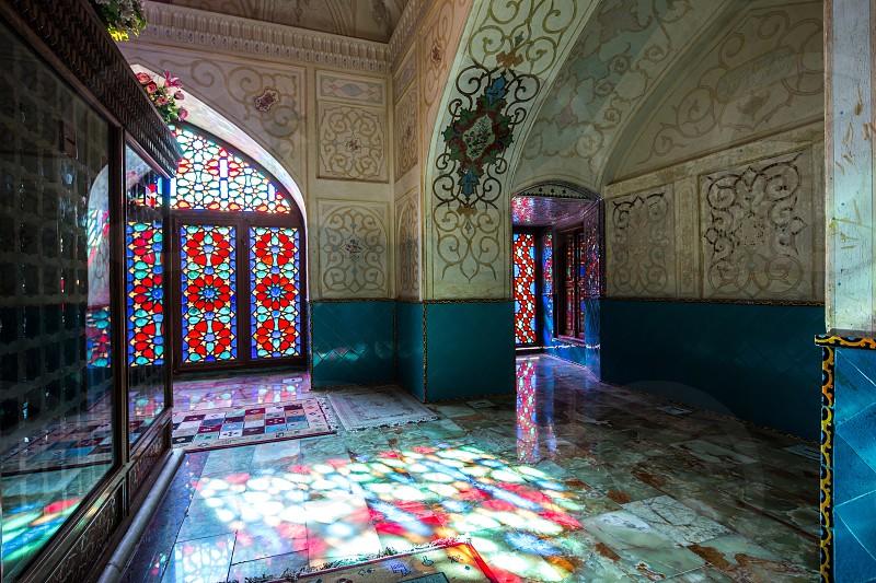 This mausoleum built by Nasir-al-mulk for Imamzadeh Zanjiri who is a descendant of a shia Imam. photo