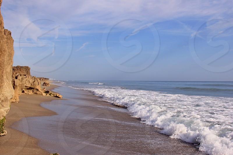 Sea ocean landscape  photo