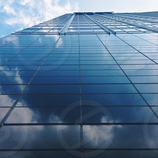 black building with glass walls photo