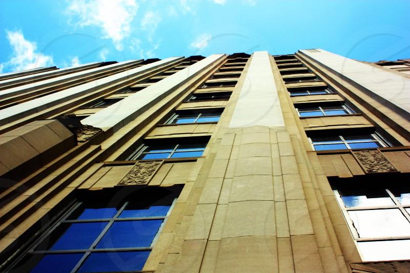 City Boston building tall photo