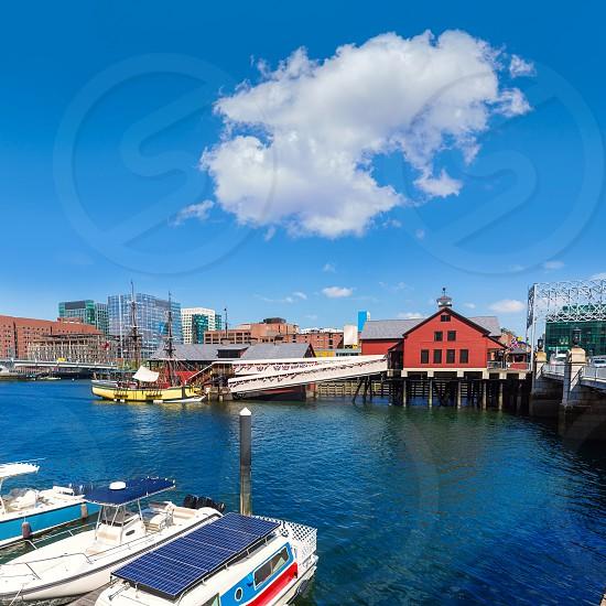Boston Tea Party in Massachusetts USA photo