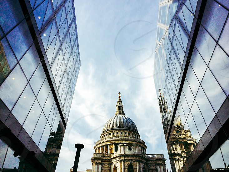 London's Saint Paul's Cathedral as seen from One New Change photo