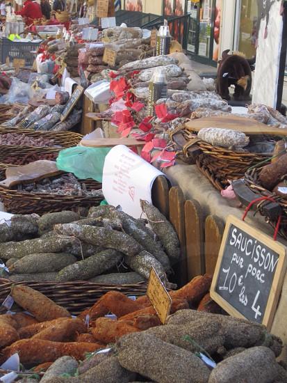 'The Market' Provence France photo